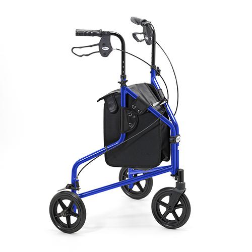 Three wheel walker lightweight